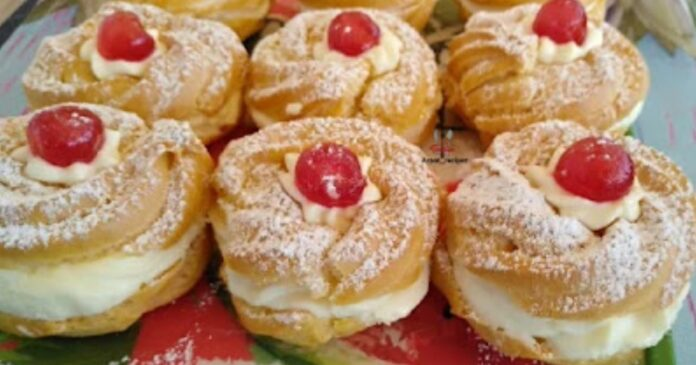 Zeppole! Τα διάσημα ιταλικά σου με κρέμα !- Syntages-matinas.gr